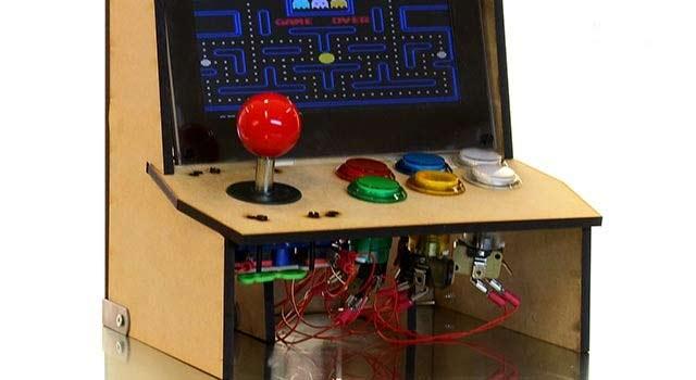 borne arcade raspberry