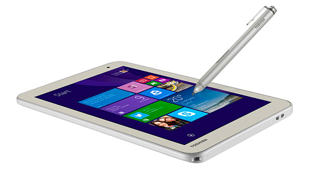 toshiba encore 2 write une tablette avec stylet sous windows. Black Bedroom Furniture Sets. Home Design Ideas