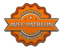 Devenez sponsors de Minimachines.net avec Patreon