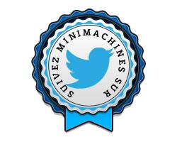 Suivez Minimachines sur Twitter !