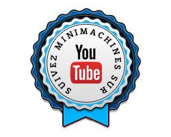 Suivez Minimachines sur Youtube !