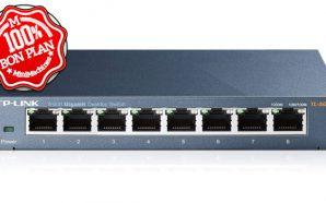 TP-LINK TL-SG108 : Un switch 8 ports Gigabit à 14€