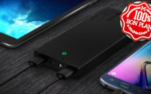Bon Plan : Batterie Aukey 16000 mAh Quick Charge 2.0…