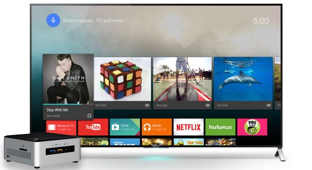 android tv sur pc c 39 est d sormais possible. Black Bedroom Furniture Sets. Home Design Ideas