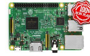 Bon Plan : La Raspberry Pi 3 Modèle B à…