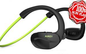 Bon Plan : Un casque Oreillette Bluetooth 4.1 Stéréo Aukey…