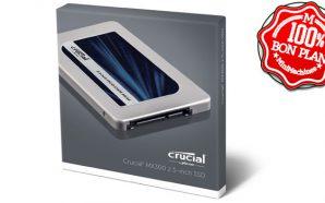 Bon Plan : Le SSD Crucial MX300 275 Go à…