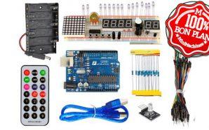 Bon Plan : Un kit Arduino très complet à 16.47€
