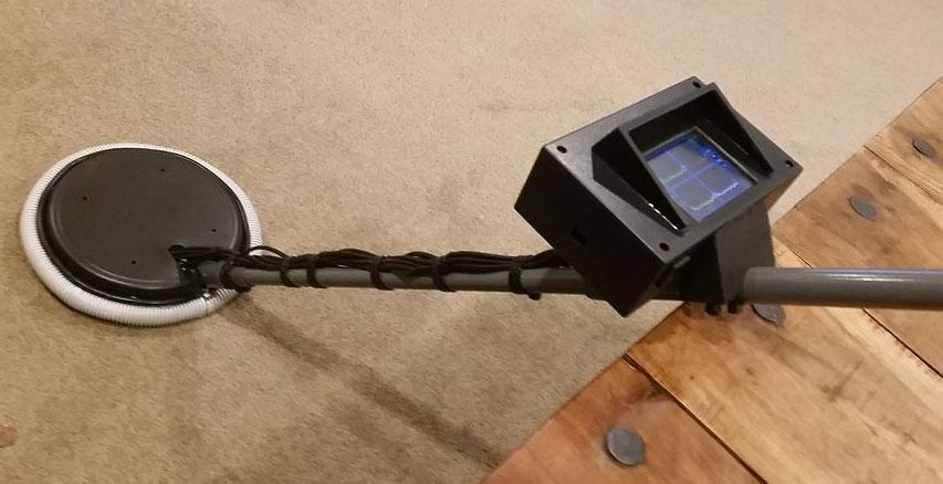 fabriquer un d tecteur de m taux maison avec une arduino mega. Black Bedroom Furniture Sets. Home Design Ideas