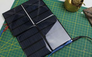 Construire un panneau solaire à 5€ pour recharger une batterie…