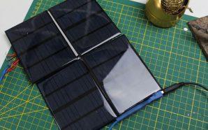 Construire un panneau solaire à 5€ pour recharger une batterie…