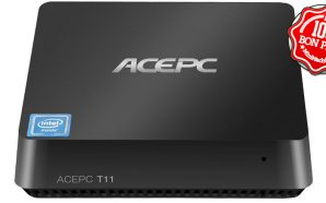 AcePC T11 : Une solution Atom X5 fanless 4 Go…