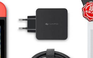Bon Plan : Un chargeur Ivapo 65W USB type-C pour…