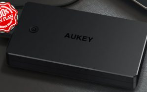 Batterie Aukey 20 000 mAh avec MicroUSB et Lightning à…
