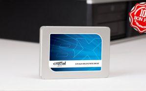 SSD Crucial BX300 240 Go CT240BX300SSD1 à 68€