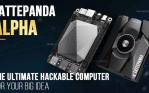 LattePanda Alpha : Une mini carte mère Core M3-7Y30 et…