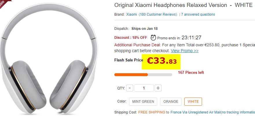Casque audio Xiaomi Relaxed