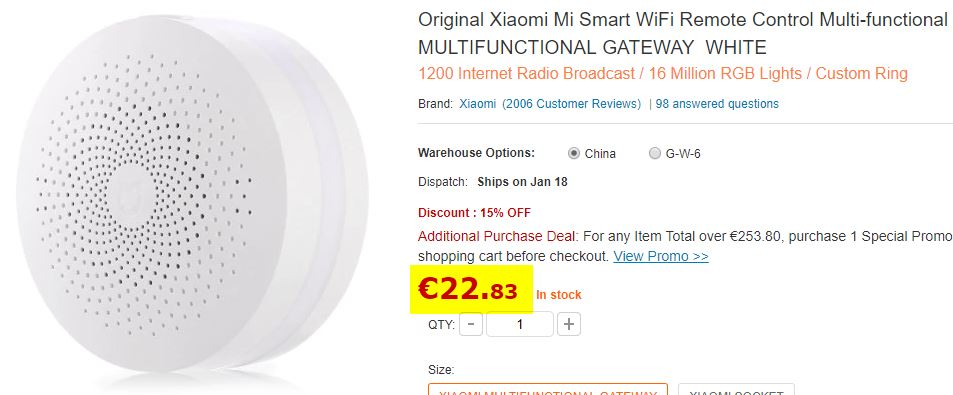 Centrale Xiaomi Mi Smart WiFi