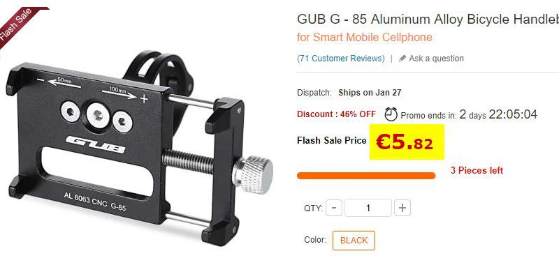 Support smartphone GUB G-85
