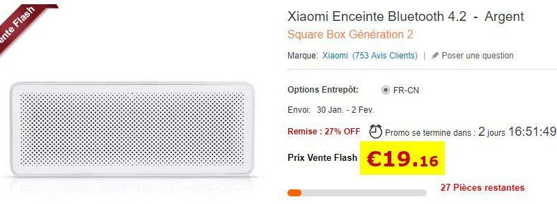 Enceinte Bluetooth Xiaomi 4.2