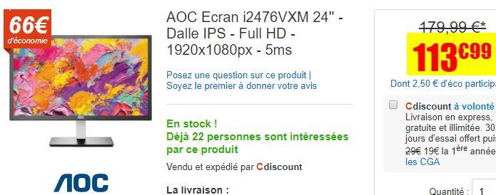 Ecran 24