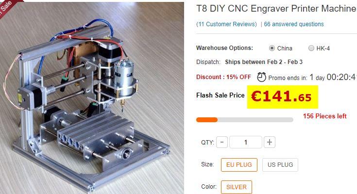 Mini CNC T8