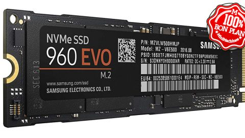 SSD M.2 Samsung 500Go 960 EVO