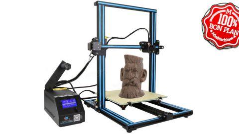 Imprimante 3D Creality CR-10 Bleue