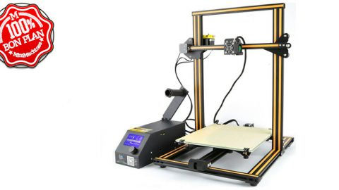 Imprimante 3D Creality CR-10 Jaune Stock france