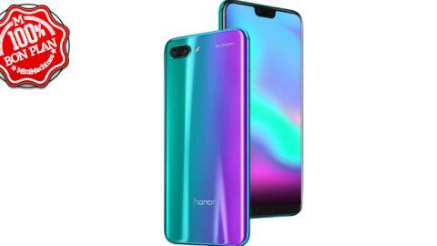 Smartphone Huawei Honor 10 4/128Go vert