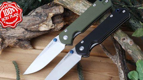 Couteau Sanrenmu LAND 910 vert