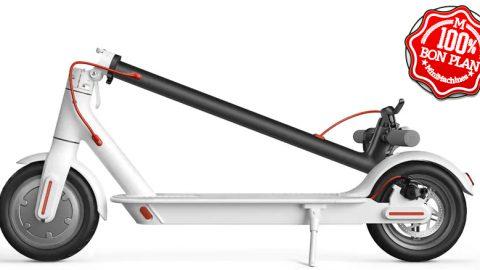 Trottinette électrique Xiaomi M365 Blanche CE Stock France