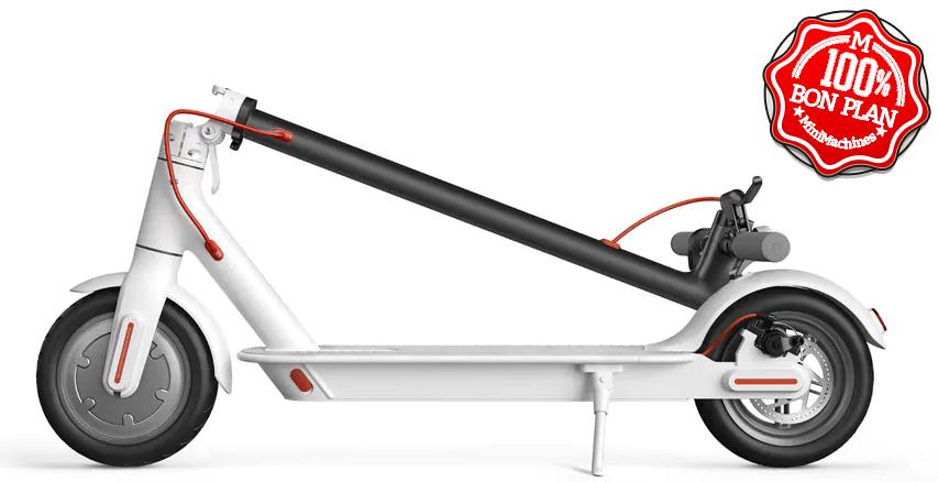 Trottinette électrique Xiaomi M365 Blanche