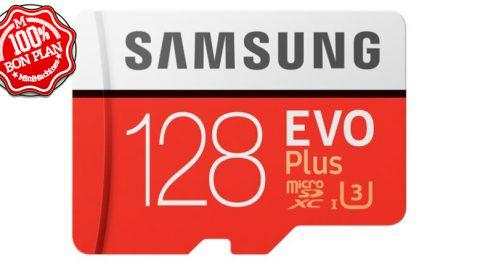 Carte MicroSDXC Samsung EVO 128Go