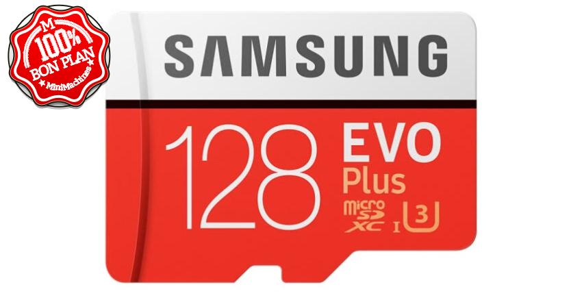 Carte MicroSDXC Samsung EVO Plus 128Go