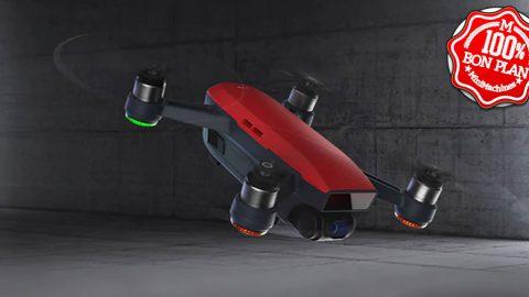 Drone DJI Mavic Spark Mini RC Selfie – BNF - Blanc