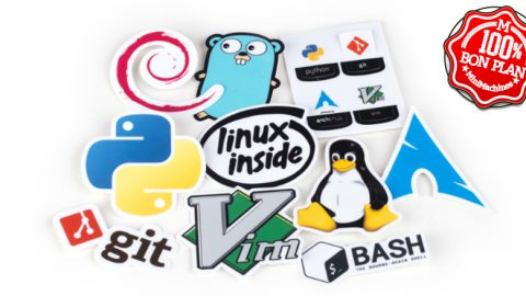 Pack de stickers Linux