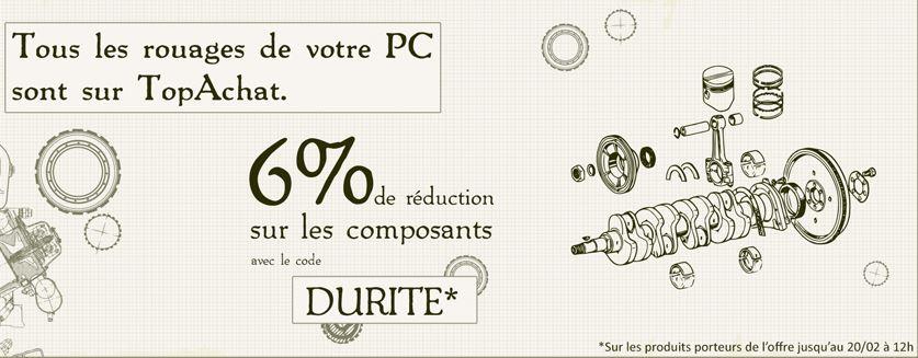 -6% sur les composants chez TopAchat