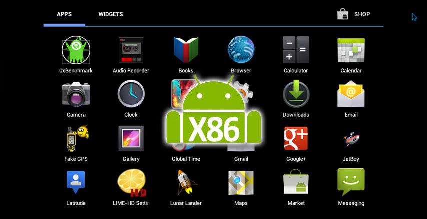 Android-x86 offre la version 7.1 du système pour votre PC