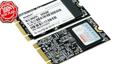 SSD M.2 2242 NGFF Kingspec 128 Go