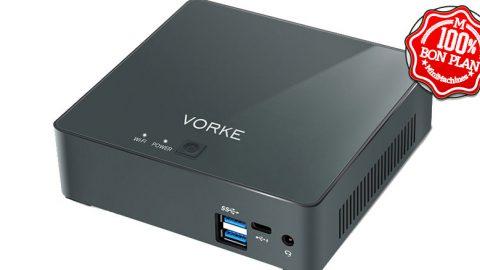 MiniPC Vorke V2 Plus i7-7500U 8/256Go Ubuntu 16.04