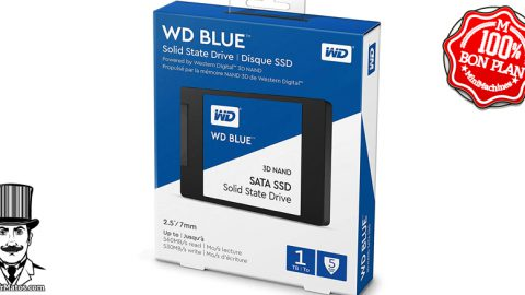SSD Western Digital Blue 3D 2To