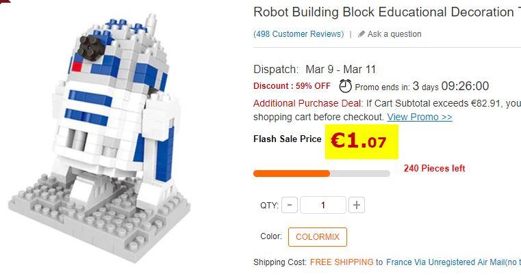 Robot puzzle a assembler