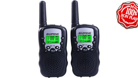 Talkie Walkie Baofeng BF-T3 version europe x 2
