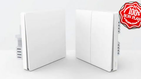 Interrupteur simple Xiaomi Aqara filaire + sans fil