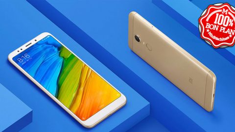 Smartphone Xiaomi Redmi 5 Plus 4/64Go Bleu / Or