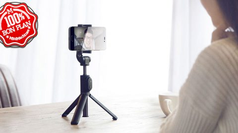 Trépied Xiaomi Selfie Stick noir