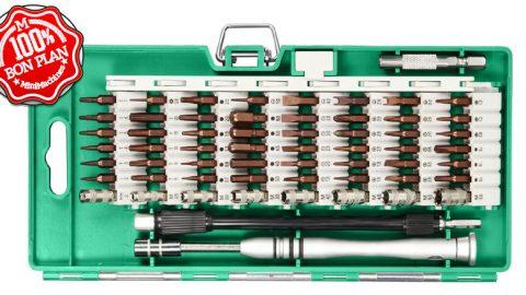 Kit de tournevis 58 pièces