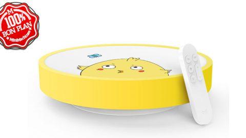 Plafonnier Xiaomi Yeelight Enfant jaune ou bleu