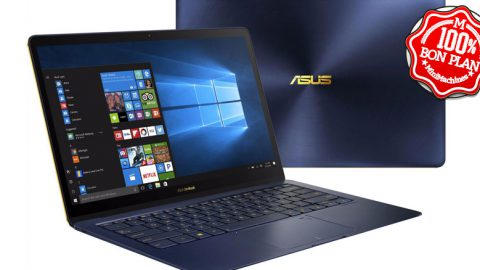 Ultrabook ASUS ZenBook 3 Deluxe UX490UA-BE032T bleu